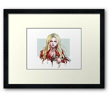 Once Upon a Time Emma Swan Framed Print