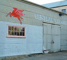 Clunes Garage by Joe Mortelliti