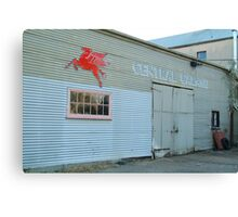 Clunes Garage Canvas Print