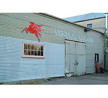 Clunes Garage Photographic Print
