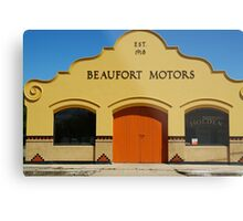 Beaufort Motors Metal Print