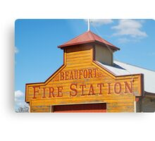 Beaufort Fire Station Metal Print