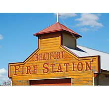 Beaufort Fire Station Photographic Print