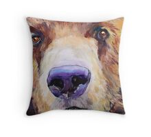 The Sniffer Throw Pillow