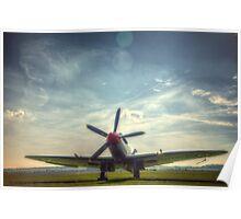Supermarine Spitfire FR MkXVIIIe Flightline Poster