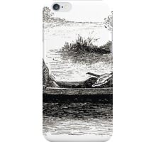Achille Sirouy Mark Twain Les Aventures de Huck Huckleberry Finn illustration p047 iPhone Case/Skin