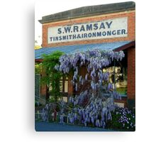 Ramsey Ironmonger Canvas Print