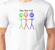 Play Nice Y'all Unisex T-Shirt