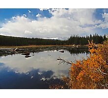 Red Rock Lake Wide Photographic Print
