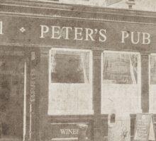 Peter's Pub, Dublin Sticker