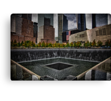 North Tower 9/11 Memorial Canvas Print