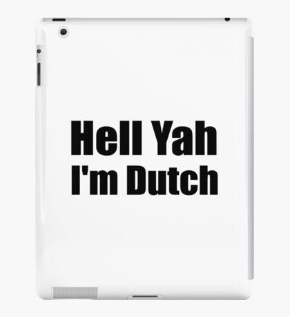 Dutch iPad Case/Skin