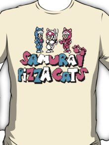 Pizza Cats 8bit T-Shirt