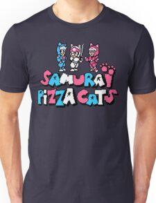 Pizza Cats 8bit Unisex T-Shirt