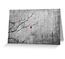 Christmassy Mountain Ash Greeting Card