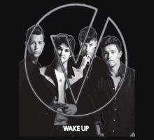 The Vamps - Wake Up Cover Album Black T-Shirt