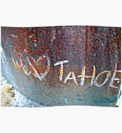 We Love Tahoe Poster