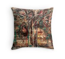 """Muted"" by Skye Amber Sweet Throw Pillow"