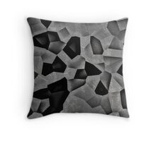 Distortion inv Throw Pillow