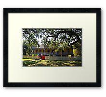 Laura Plantation Framed Print