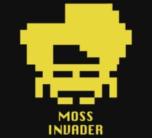 Moss invader, IT Crowd by monsterplanet