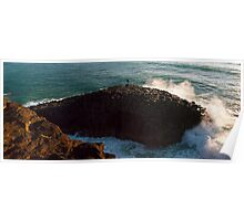 Giant's Causeway, Fingal Heads, NSW Poster