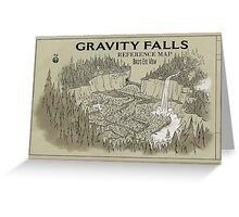 Gavity Falls Greeting Card