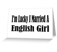 English Greeting Card