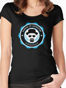 University Of Chemistry Women's Fitted Scoop T-Shirt