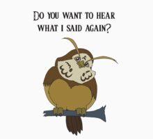 Kaepora Gaebora- Zelda Owl Kids Tee