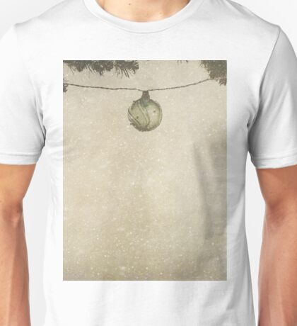 Christmas Baubles in the Snow T-Shirt