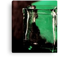 green and clear Canvas Print
