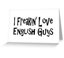 English Greeting Card