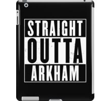 Straight Outta Arkham iPad Case/Skin