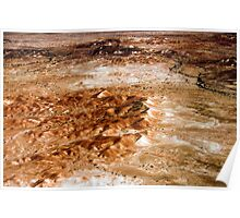 Anna Creek Painted Hills, Outback South Australia 645 Poster