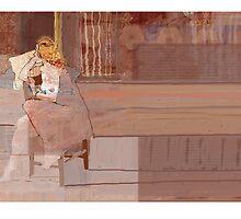 ally in chair by David  Kennett