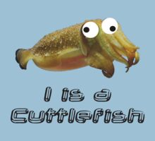 I is a cuttlefish Kids Tee