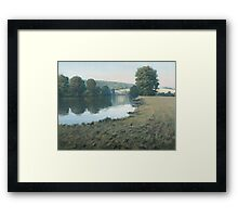 Hardwick House Framed Print