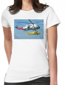 Master and Commander Womens Fitted T-Shirt