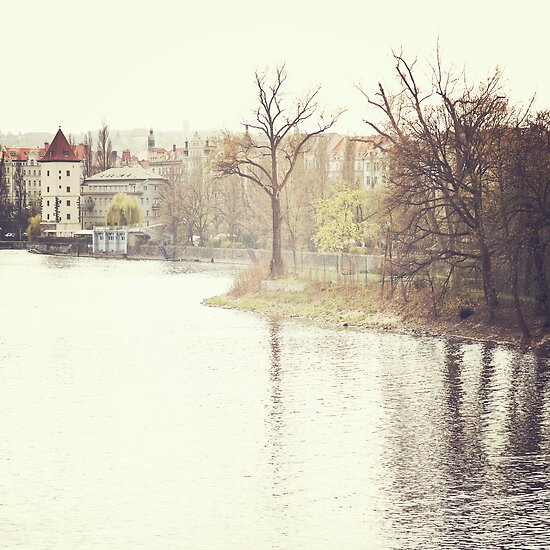 riverside, prague by Natasha Calhoun