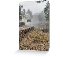Kandos Railway Station NSW Australia Greeting Card