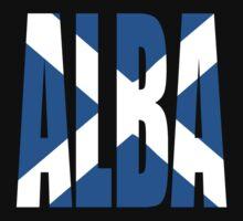Alba (Scotland) and Scots flag Kids Clothes