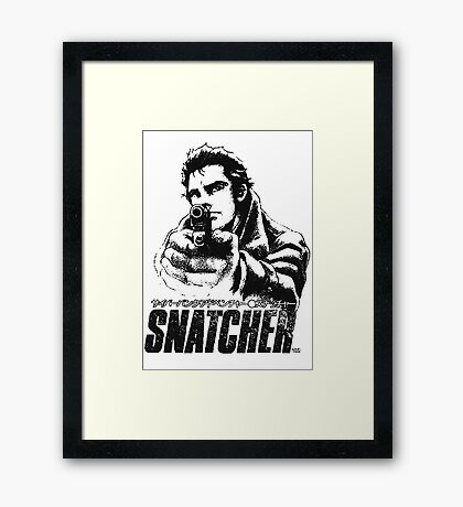 Snatcher Framed Print