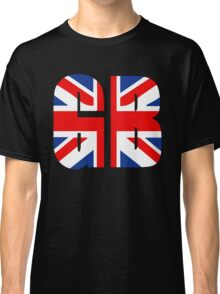 GB and Union Jack Classic T-Shirt