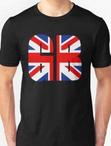 GB and Union Jack Unisex T-Shirt