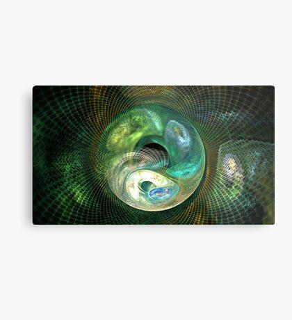 Neptune Waves Metal Print