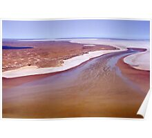 Lake Eyre, Outback South Australia 516 Poster