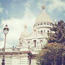 sacre coeur, paris by Natasha Calhoun