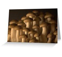 Mushroomscape Greeting Card