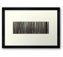 Moviebarcode: The Son's Room (2001) Framed Print